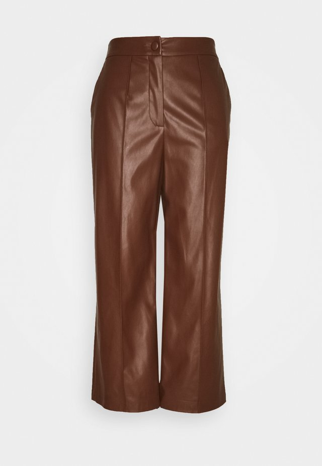 TROUSERS - Broek - brown