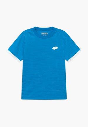 TOP TEN TEE - Print T-shirt - diva blue