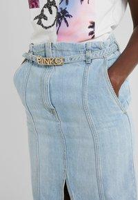 Pinko - MAGGIE GONNA - Spódnica ołówkowa  - indaco ombra - 5