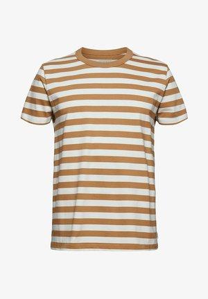 FASHION  - Print T-shirt - camel