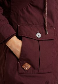 Ragwear Plus - JANE COAT - Parkatakki - wine red - 3