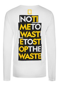 National Geographic - MIT PRINT - Long sleeved top - white - 5
