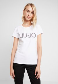 Liu Jo Jeans - MODA - T-shirt med print - white - 0