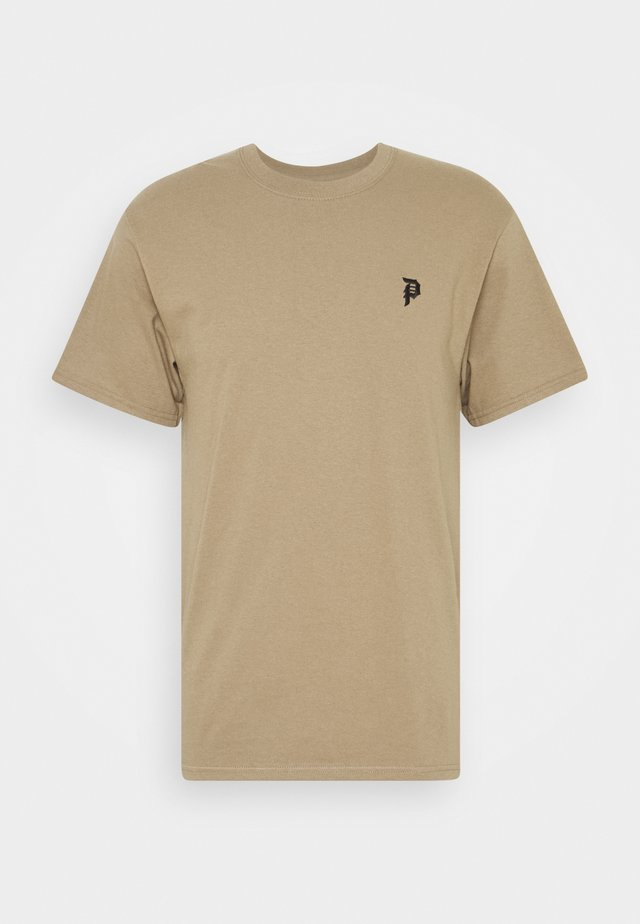 UNTAMED TEE - Triko s potiskem - safari green