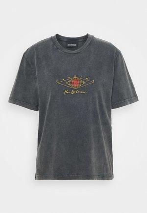 ARTWORK TEE - T-shirt z nadrukiem - faded dark grey