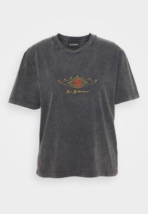 ARTWORK TEE - T-shirt con stampa - faded dark grey