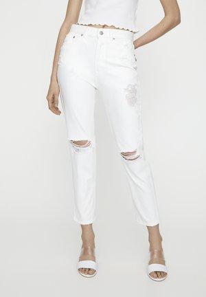 Jeans slim fit - white