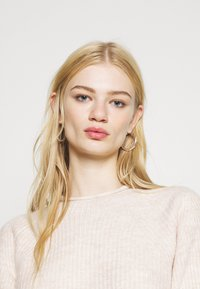 Topshop - ROLL CROP PINK - Jumper - neutral - 3