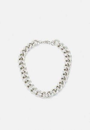 COLLIER AVEC PETIT ANNEAUX - Ketting - silver-coloured