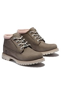 Timberland - NELLIE CHUKKA DOUBLE - Lace-up ankle boots - olive nubuck - 2