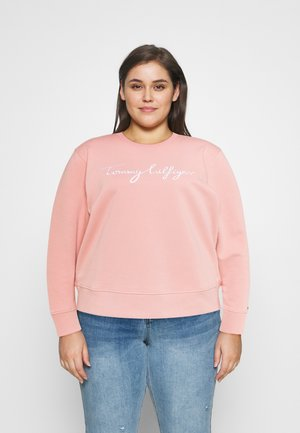 Sweatshirt - soothing pink