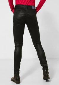 Street One - MIT COATING - Jeans Skinny Fit - schwarz - 2