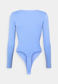 Missguided - V NECK - Jumper - pale blue - 1