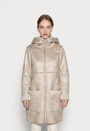ONLALBERTE BONDED COAT - Winter coat - pumice stone
