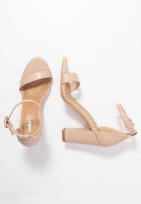 Rubi Shoes by Cotton On - SAN LUIS - Sandaler med høye hæler - pale taupe - 3