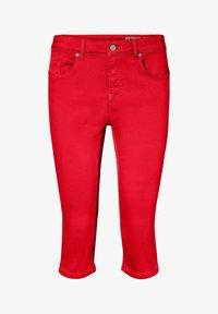Vero Moda - VMSEVEN - Denim shorts - goji berry - 4