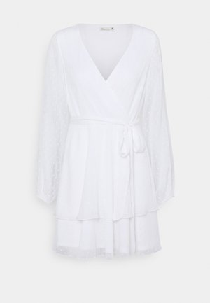 LOVEABLE WRAP DRESS - Cocktail dress / Party dress - white