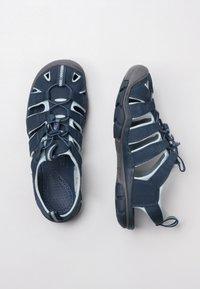 Keen - CLEARWATER CNX - Walking sandals - navy/blue glow - 1