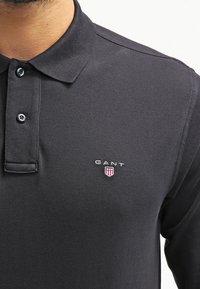 GANT - THE ORIGINAL RUGGER - Polo shirt - black - 4