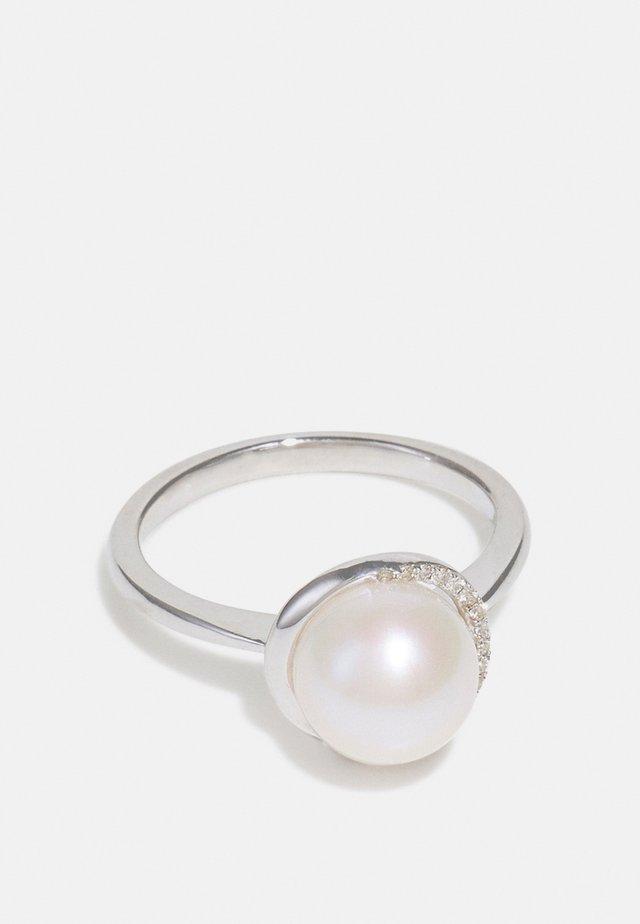 NATURAL DIAMOND  CARAT DIAMOND KT DIAMOND JEWELLERY GIFTS FOR WOMENS - Anello - white gold