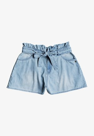 SALENTO PLAYA - Denim shorts - light blue