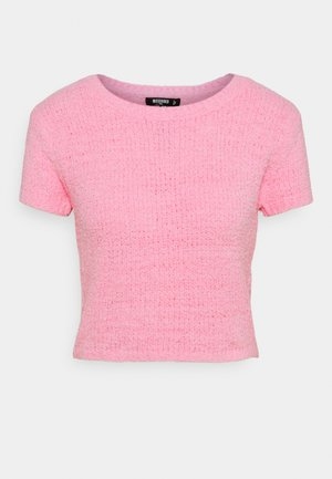 POPCORN - T-shirt basic - pink