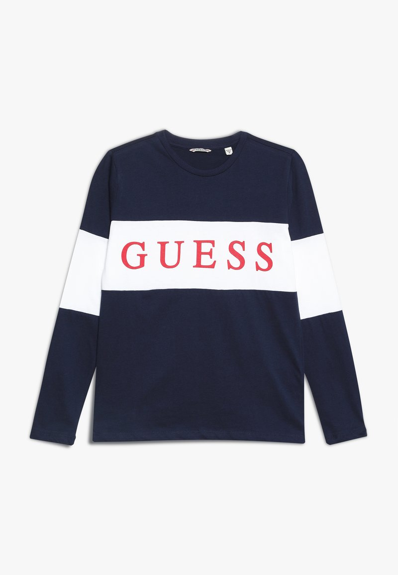 Guess - JUNIOR  - Camiseta de manga larga - deck blue