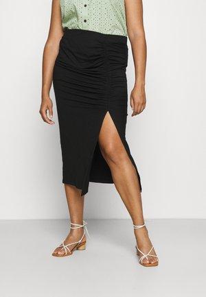 NMLINE SKIRT - Pencil skirt - black