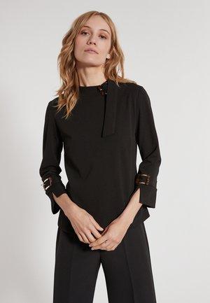 ELDA - T-shirt à manches longues - schwarz