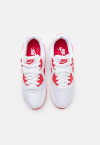 Nike Sportswear - AIR MAX 90 - Baskets basses - white/hyper red/black - 3