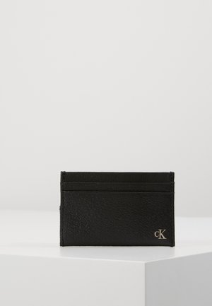 MONOGRAM TEXTURE CARDCASE - Wallet - black