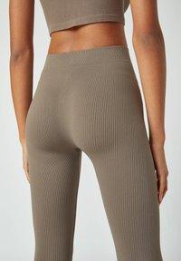 PULL&BEAR - Leggings - Trousers - grey - 5