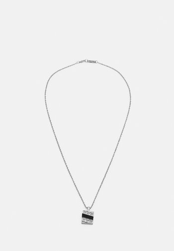 DALEY PENDANT NECKLACE - Halsband - silver-coloured