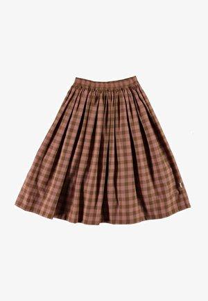 BREE - A-line skirt - autumn check
