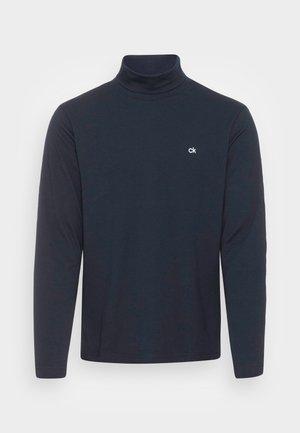 ROLL NECK LONG SLEEVE  - Långärmad tröja - calvin navy