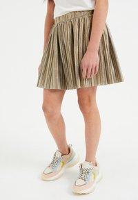 WE Fashion - A-line skirt - gold - 0