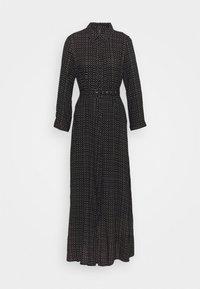 YAS - YASSAVANNA BELT ANKLE DRESS - Maxi dress - black/light taupe - 4