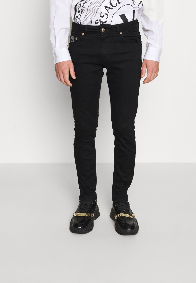 Versace Jeans Couture - Džíny Straight Fit - black