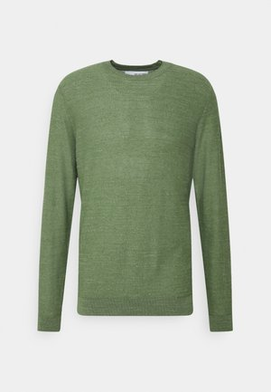 SLHBUDDY CREW NECK - Svetr - vineyard green