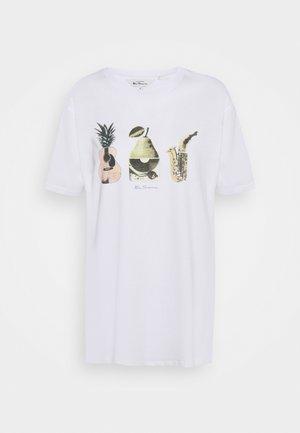 BANANA SPLIT TEE - T-shirt print - white