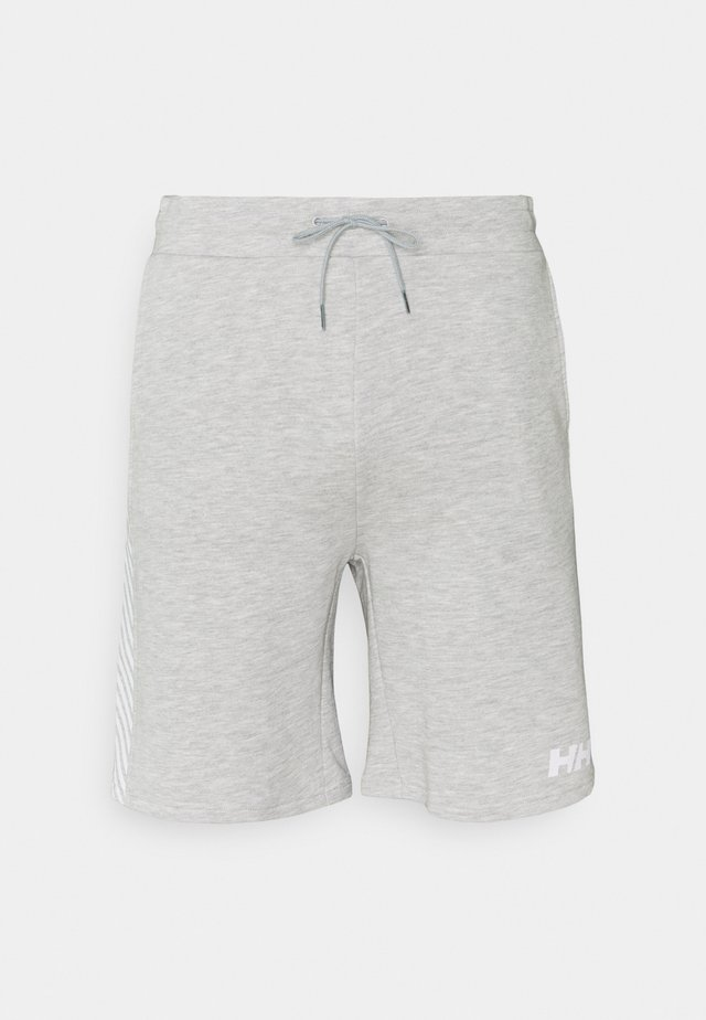 ACTIVE SHORTS - Sports shorts - grey melange