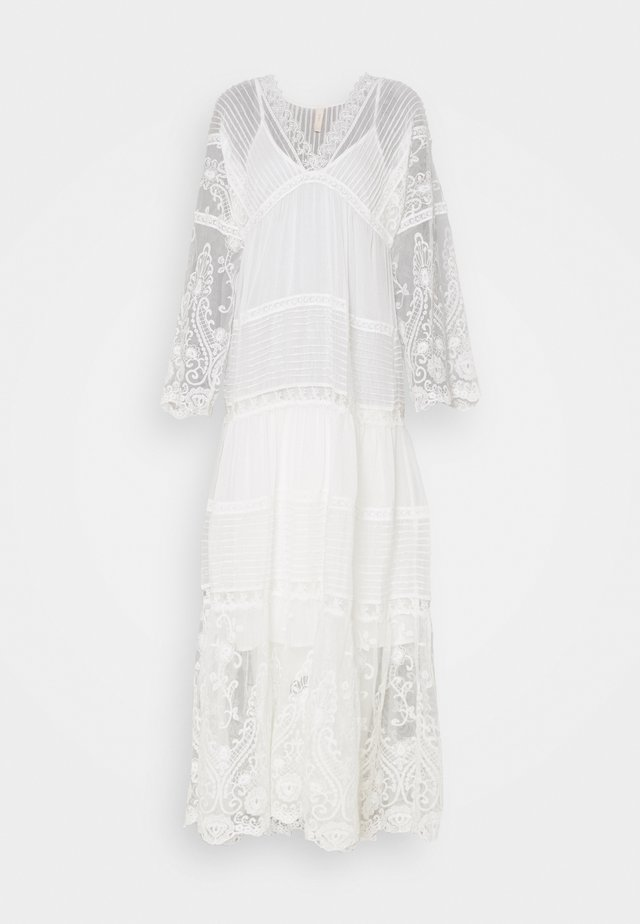 YASBIRINA DRESS - Maxi dress - pearled ivory