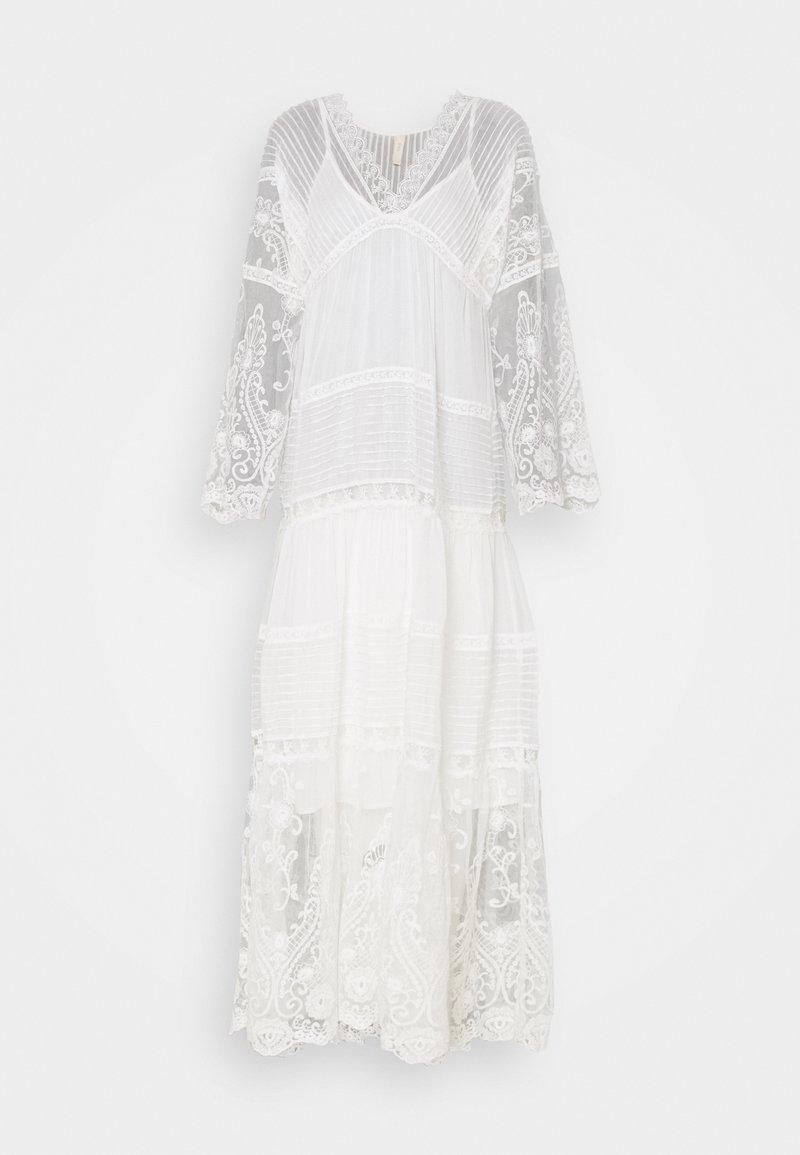 YAS - YASBIRINA DRESS - Maxi dress - pearled ivory