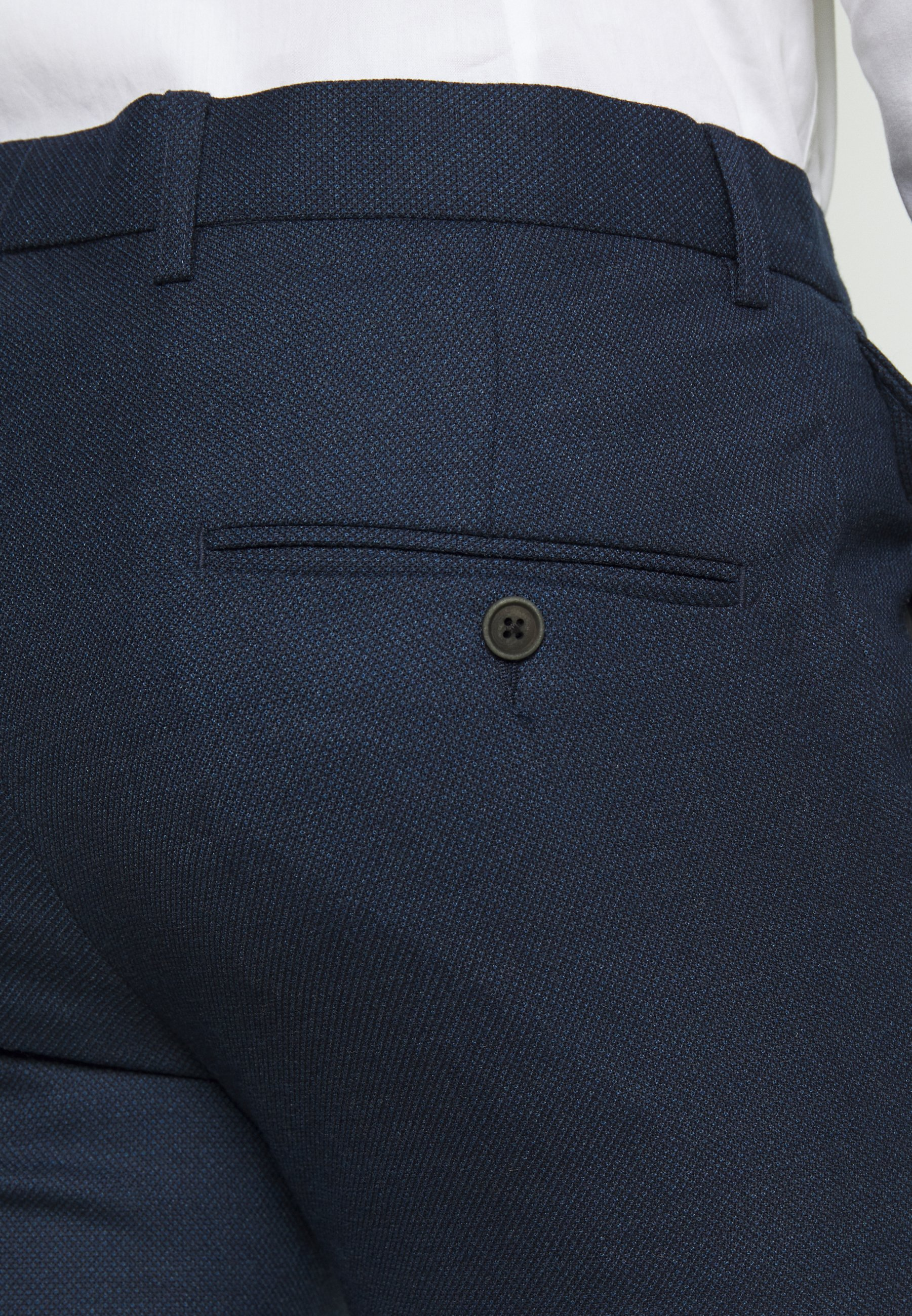 Bruun & Stengade Abruzzo Slim - Dress Navy/mørkeblå