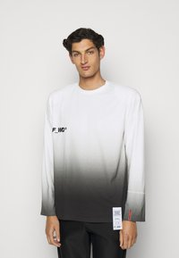 F_WD - Print T-shirt - white/black - 0