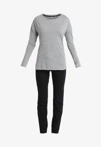 Marc O'Polo - LOUNGESET CREW NECK - Pyjamas - grau-melange - 5