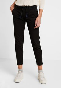 ONLY - ONLEVELYN ANKLE PANT  - Chinos - black - 0
