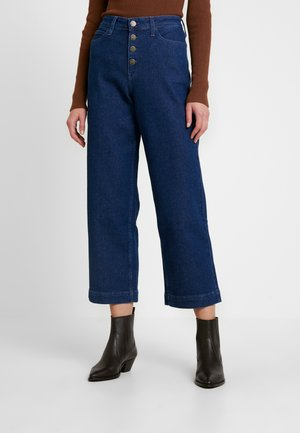 WIDE LEG - Relaxed fit jeans - dark wilma