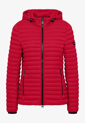 Winter jacket - chili red