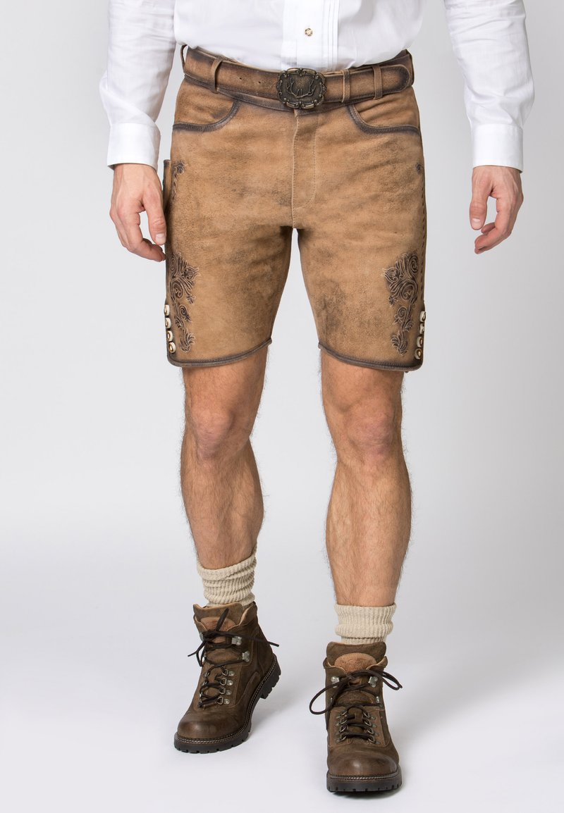 Stockerpoint - ALOIS - Shorts - brown